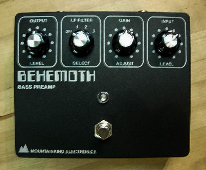 Early BEHEMOTH v1 with silkscreened graphics.