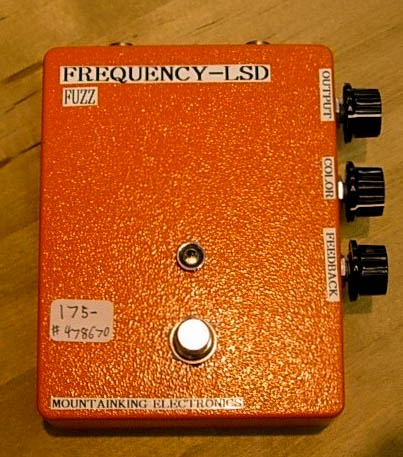 """FREQUENCY~LSD prototype. """"It's a satanic drug thing...you wouldn't understand"""""""