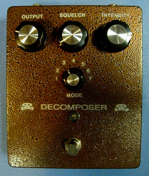First generation DECOMPOSER prototype.