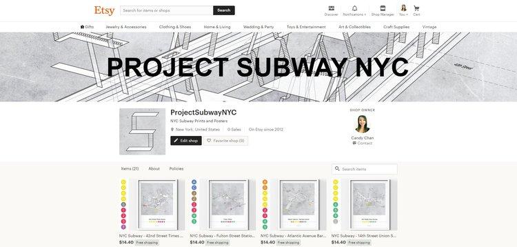 Nyc Subway Map Bam Park.Maps Blog Project Subway Nyc