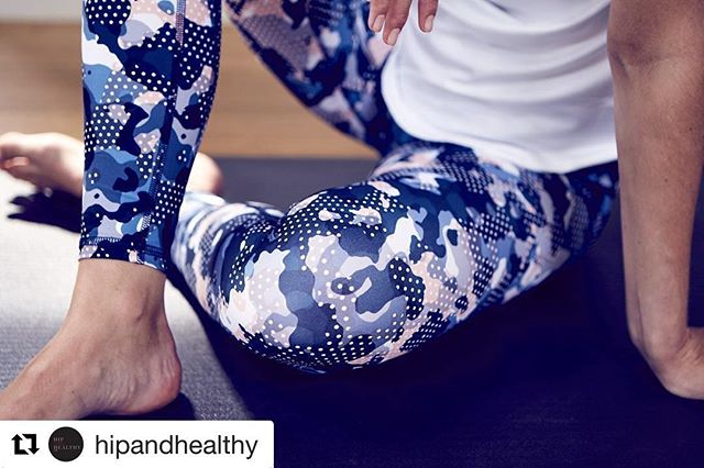 ❤️ these.  Thanks @hipandhealthy ・・・ PRINT focus | Varley's new Modern Camo print. Get these leggings + the matching bra online! 👉🏼 Hipandhealthy.com