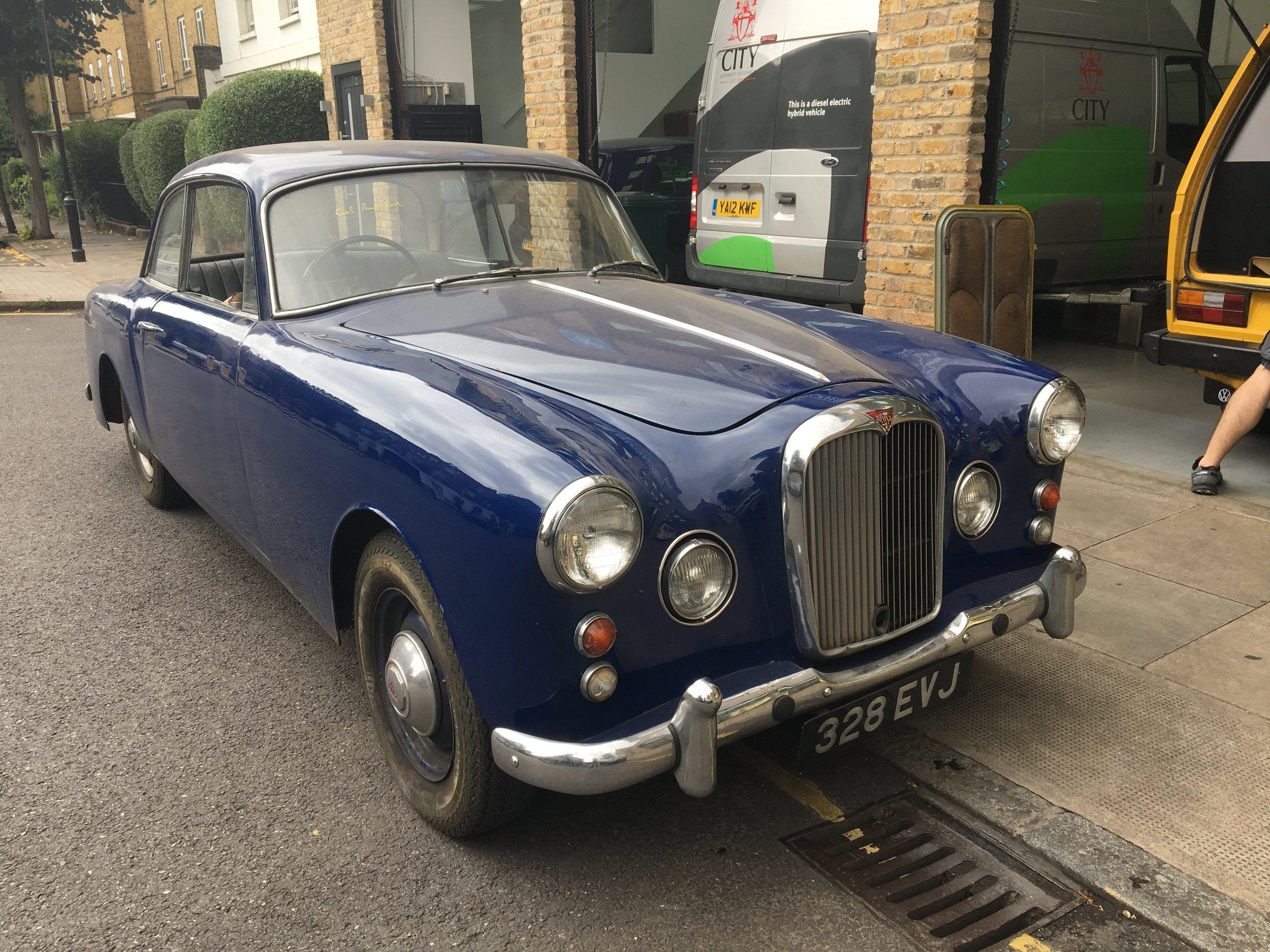 Alvis 1950s (Islington, London August 2017).JPG