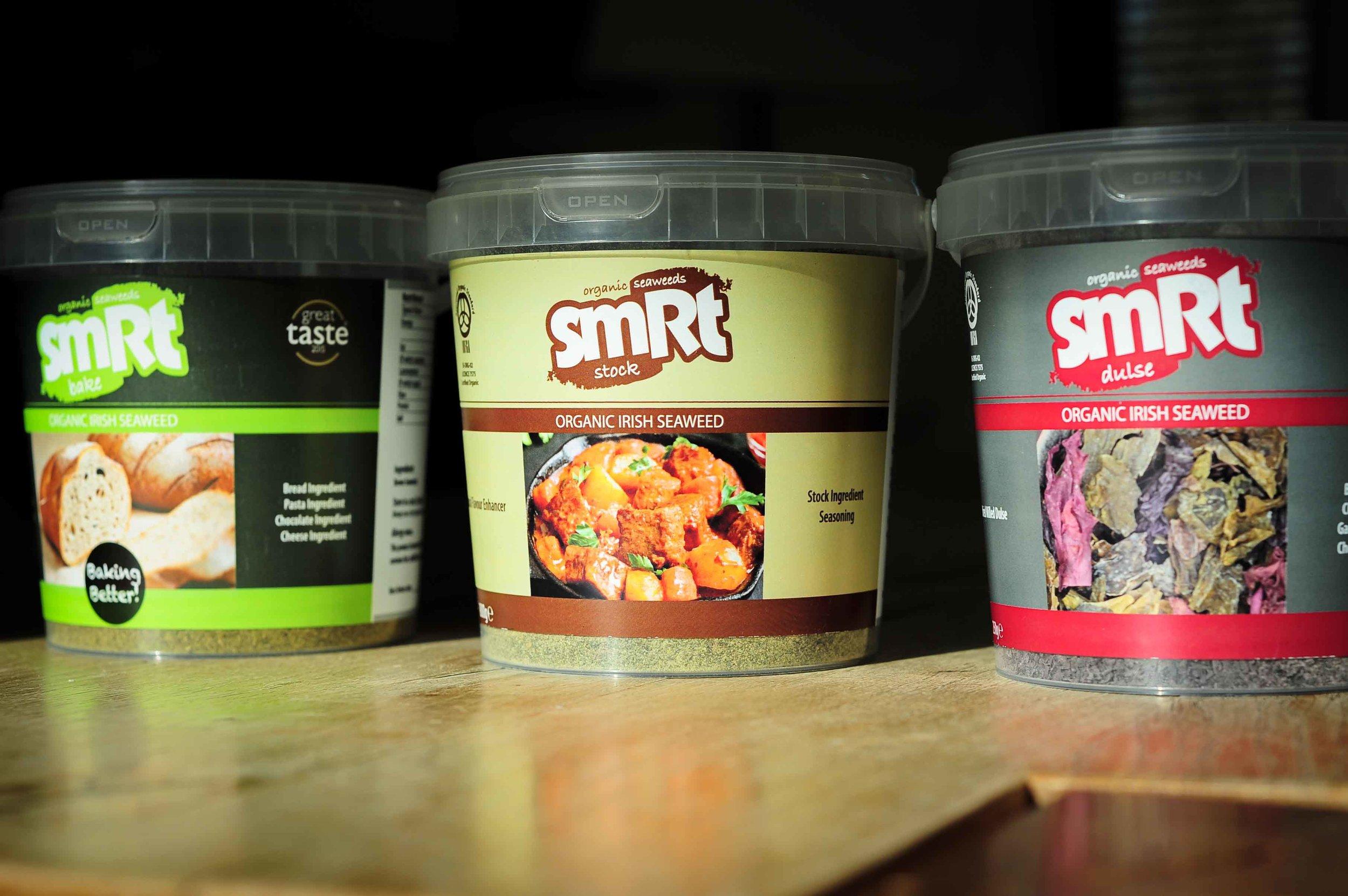 The smRt Shop product range...