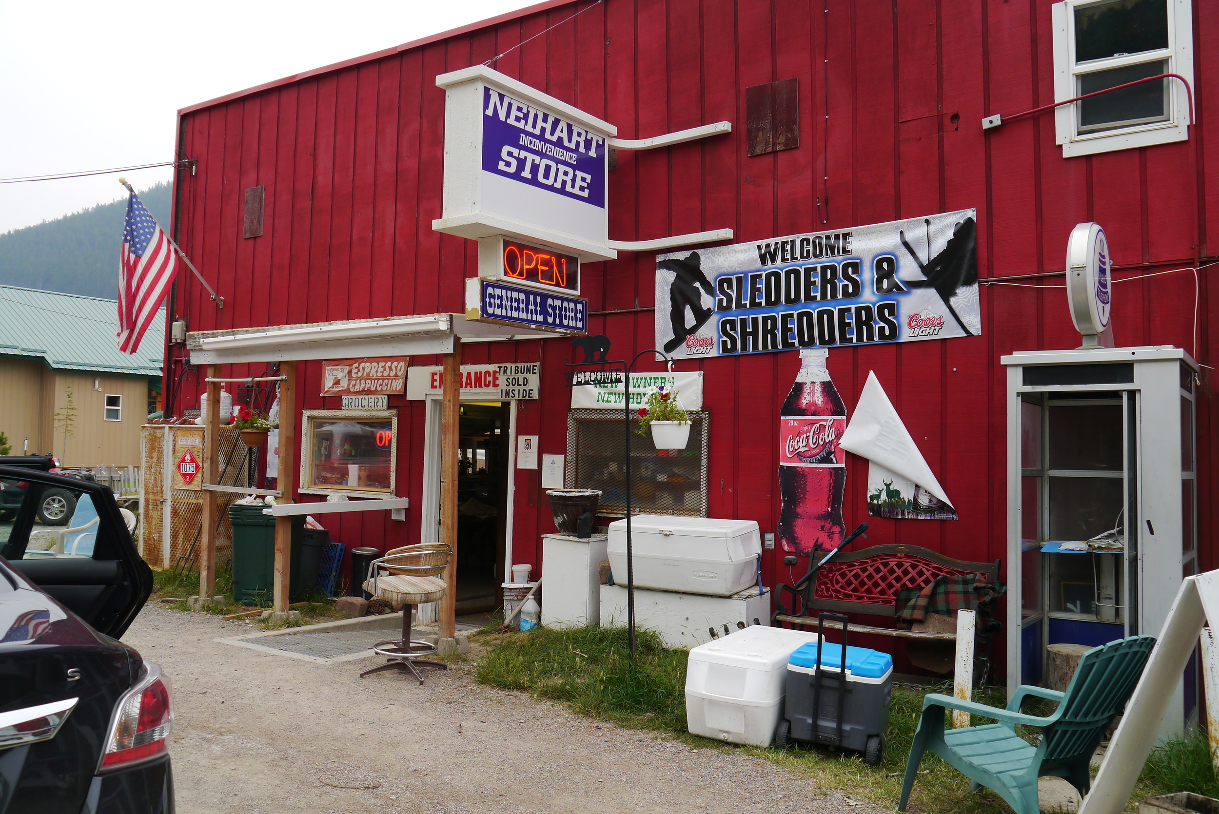 Friendliest place in Montana? All names in the story are changed.