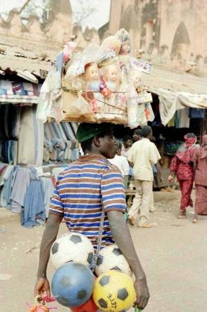 A Bamako salesman