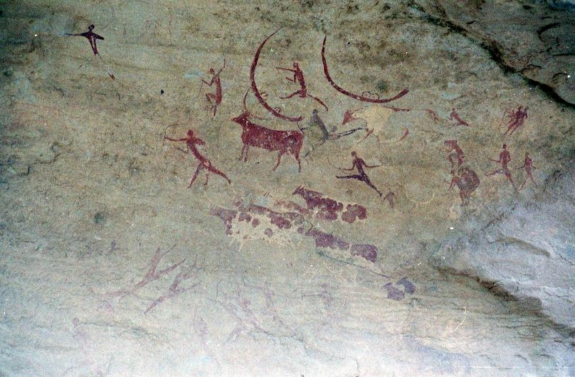 Jabberine rock art