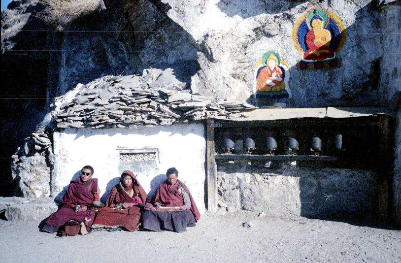 Monks, Sera Monastery, Tibet