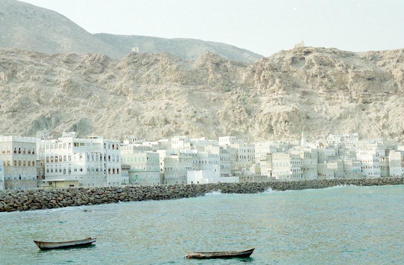 Mukalla seafront