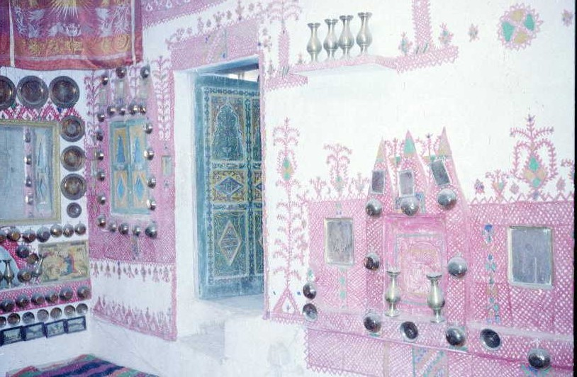 Inside a house in Ghadames