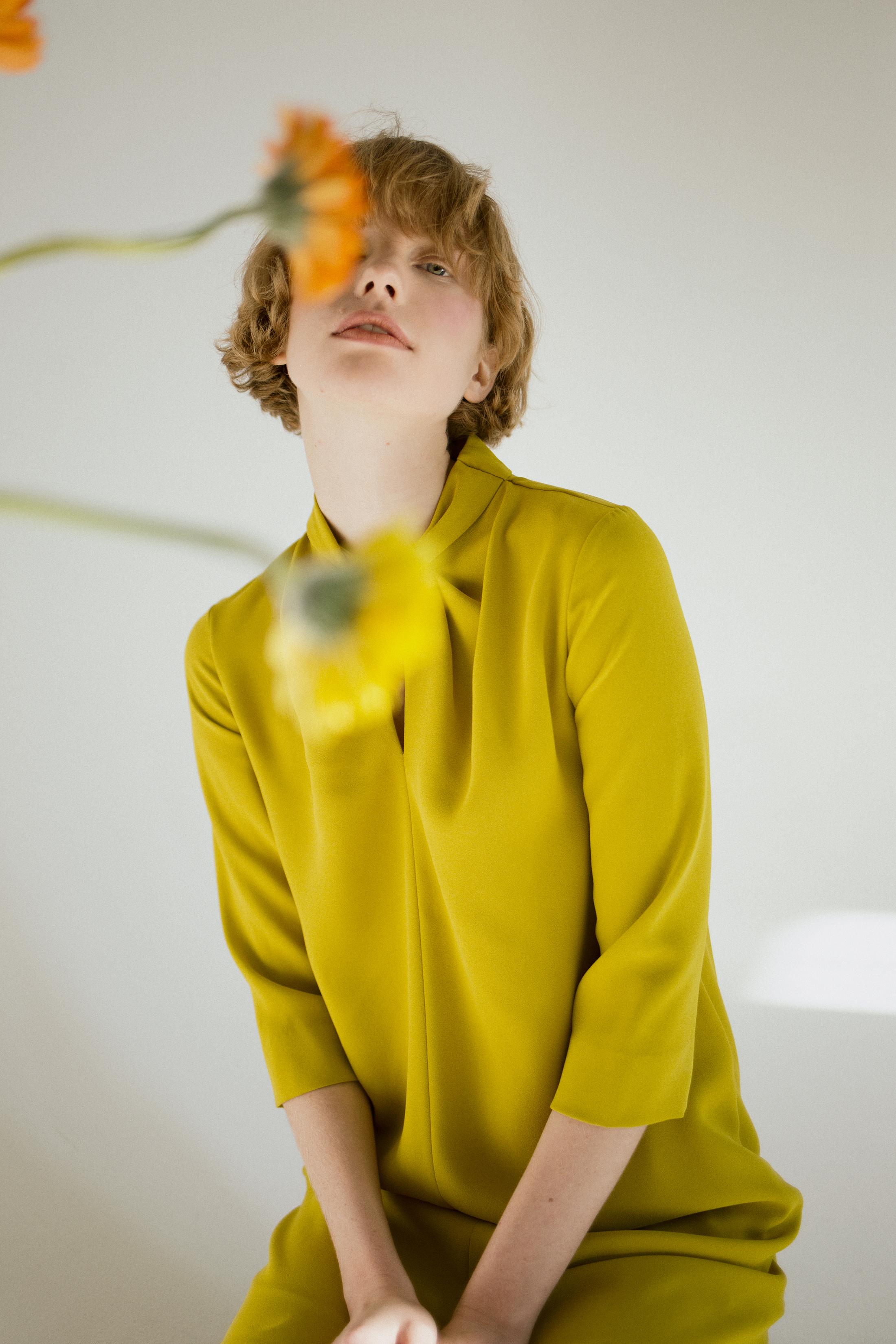 YELLOW STATE  Published On 08 January 2016   Photographer  Anastasia Izghahina  Model  Katerine @Artpodium model agency