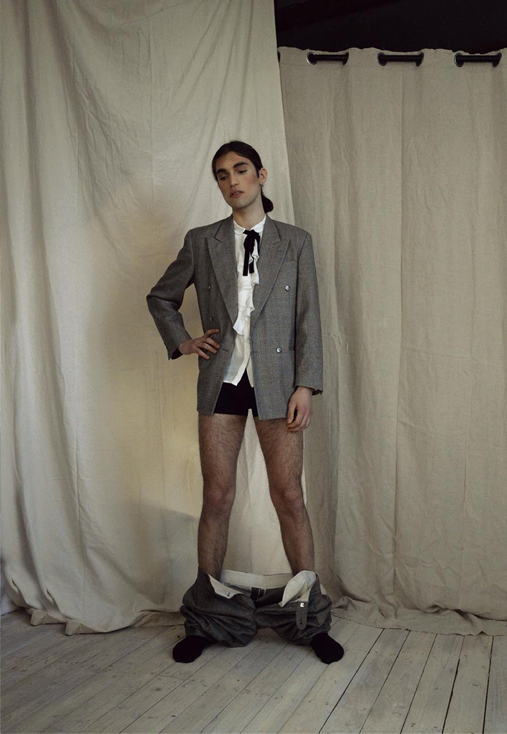 Thirty time Bernard  Published On 01 Fabruary 2016   Photographer  Annabelle Foucher  MUAH  Marie Ferté  Model  Eric Sakai