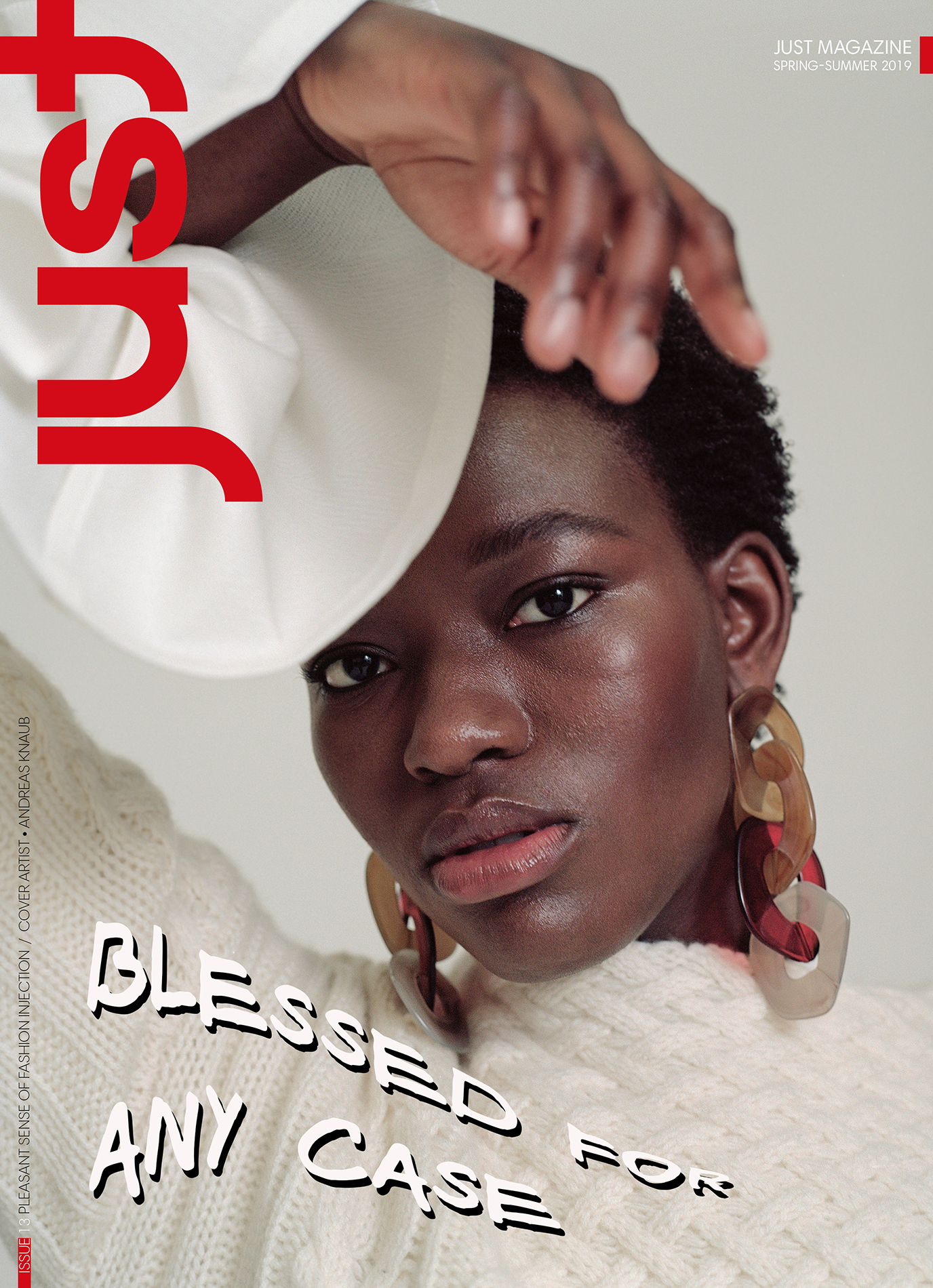 Our 13 issue is out!    Welcome to Just Magazine Spring-Summer 2019