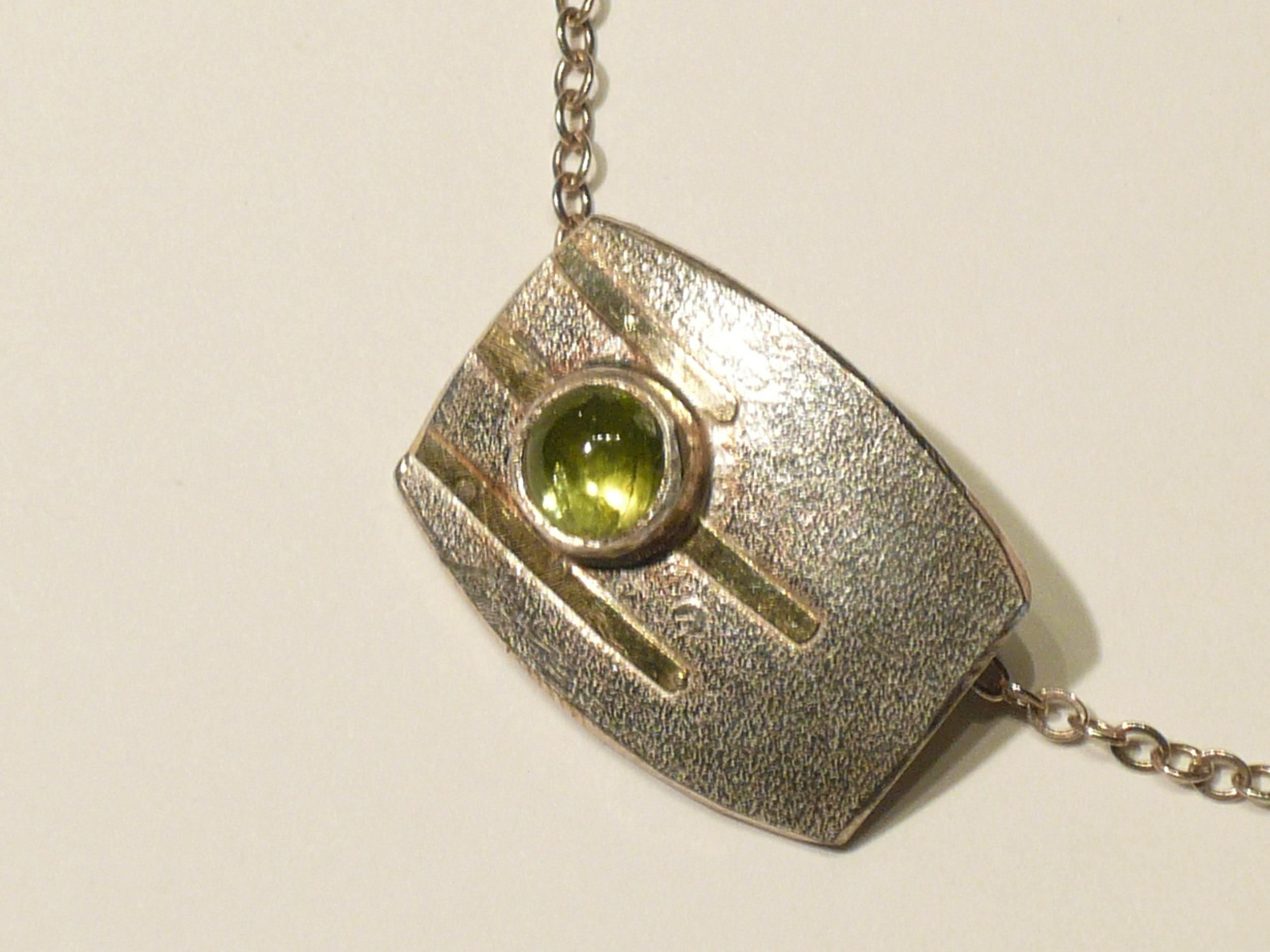 Peridot with 18kt Gold Accents