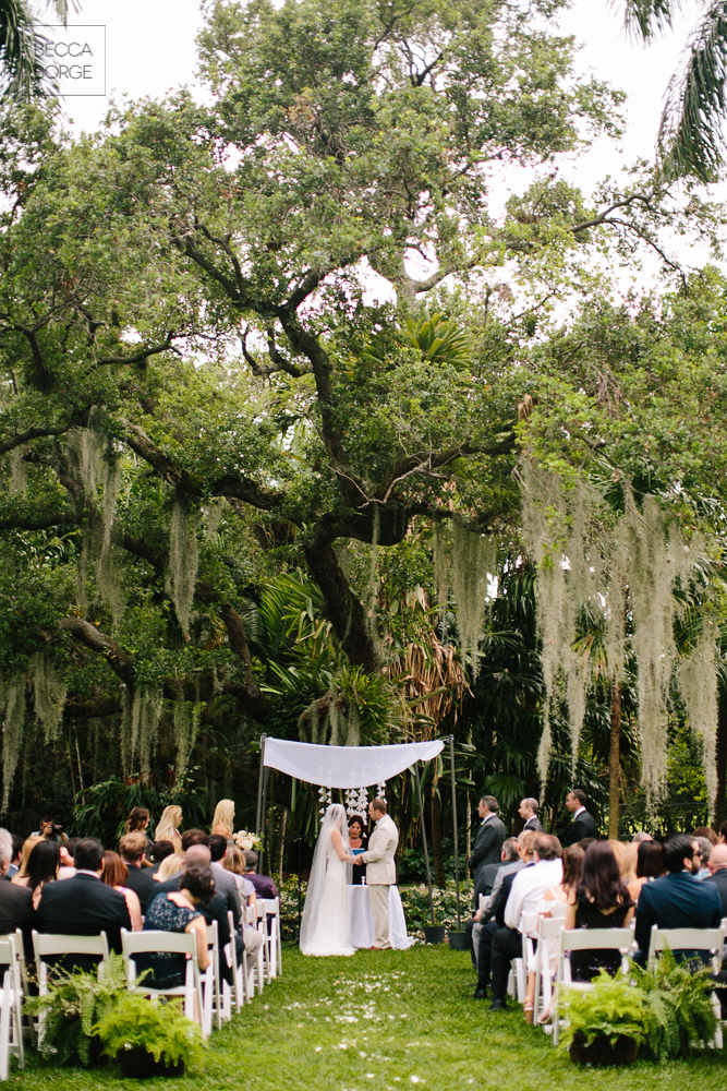 Modern Miami Garden Wedding Kampong
