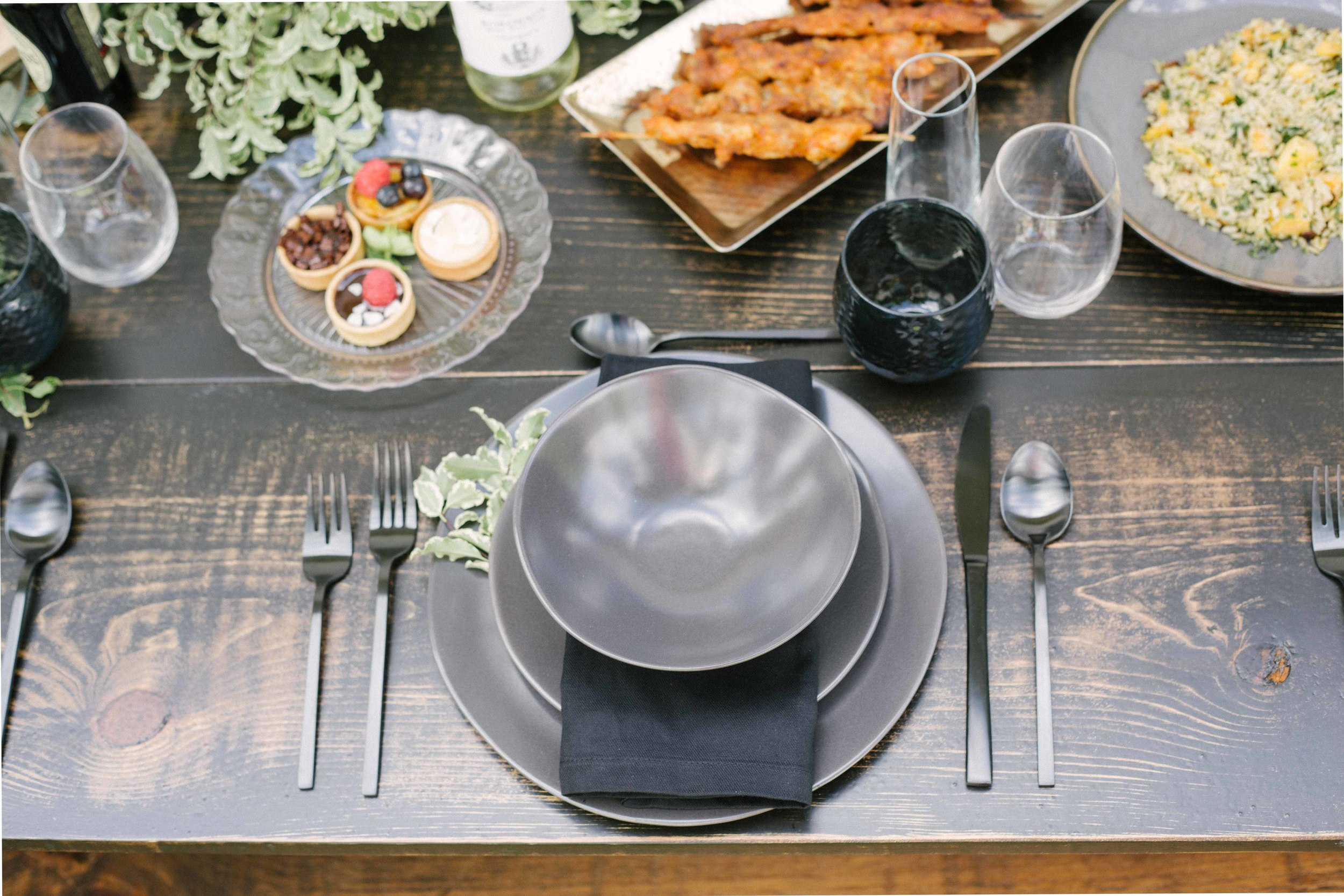 Masculine Table Inspiration for Fathers Day