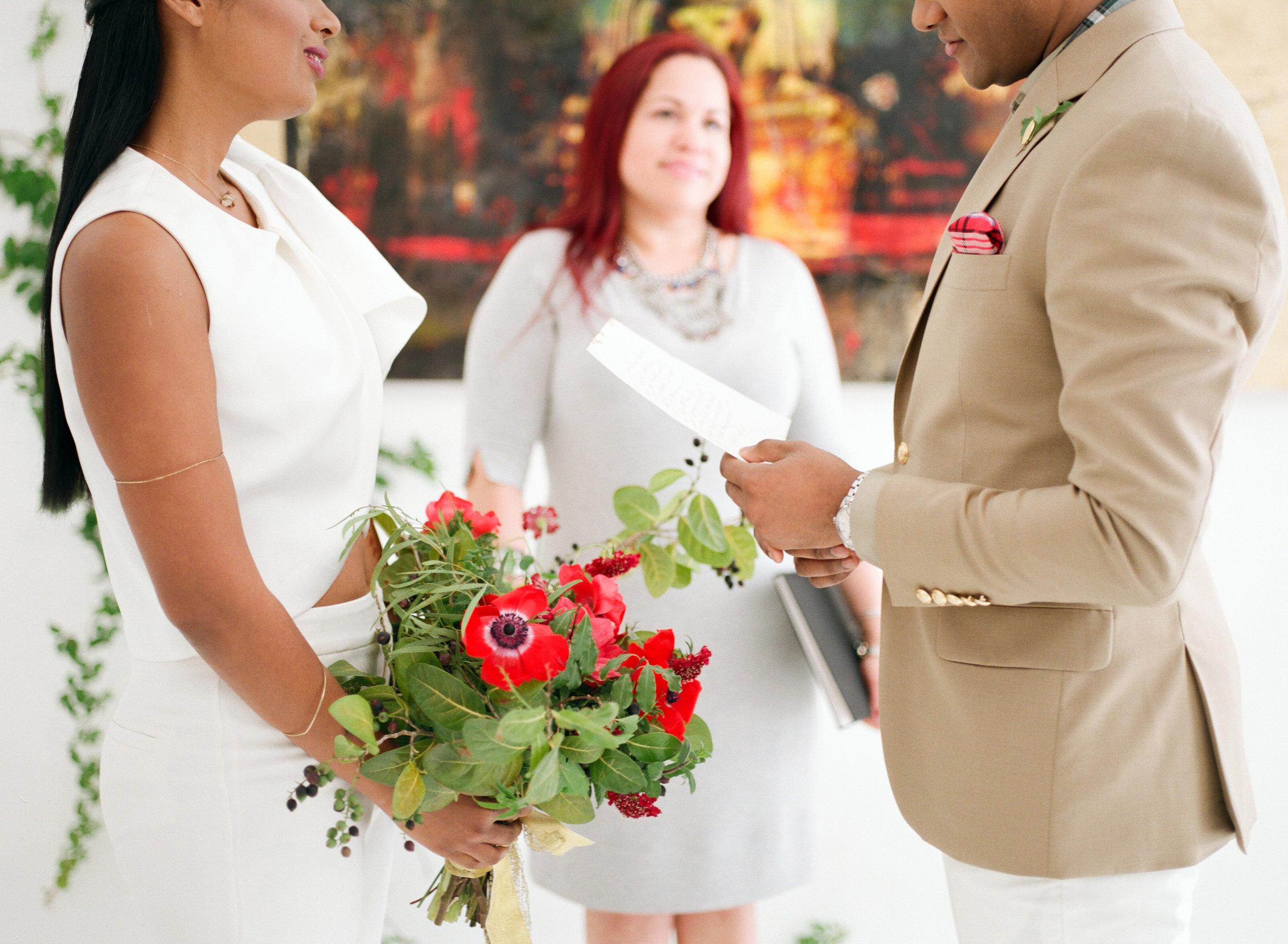 Miami Wynwood Artful Intimate Wedding