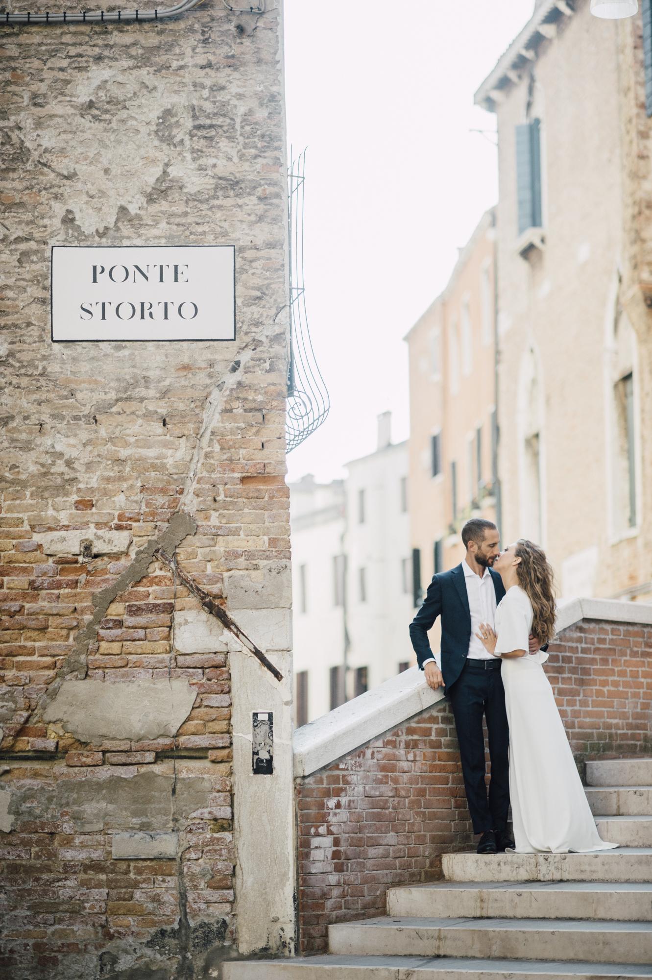 Romantic Venetian Elopement
