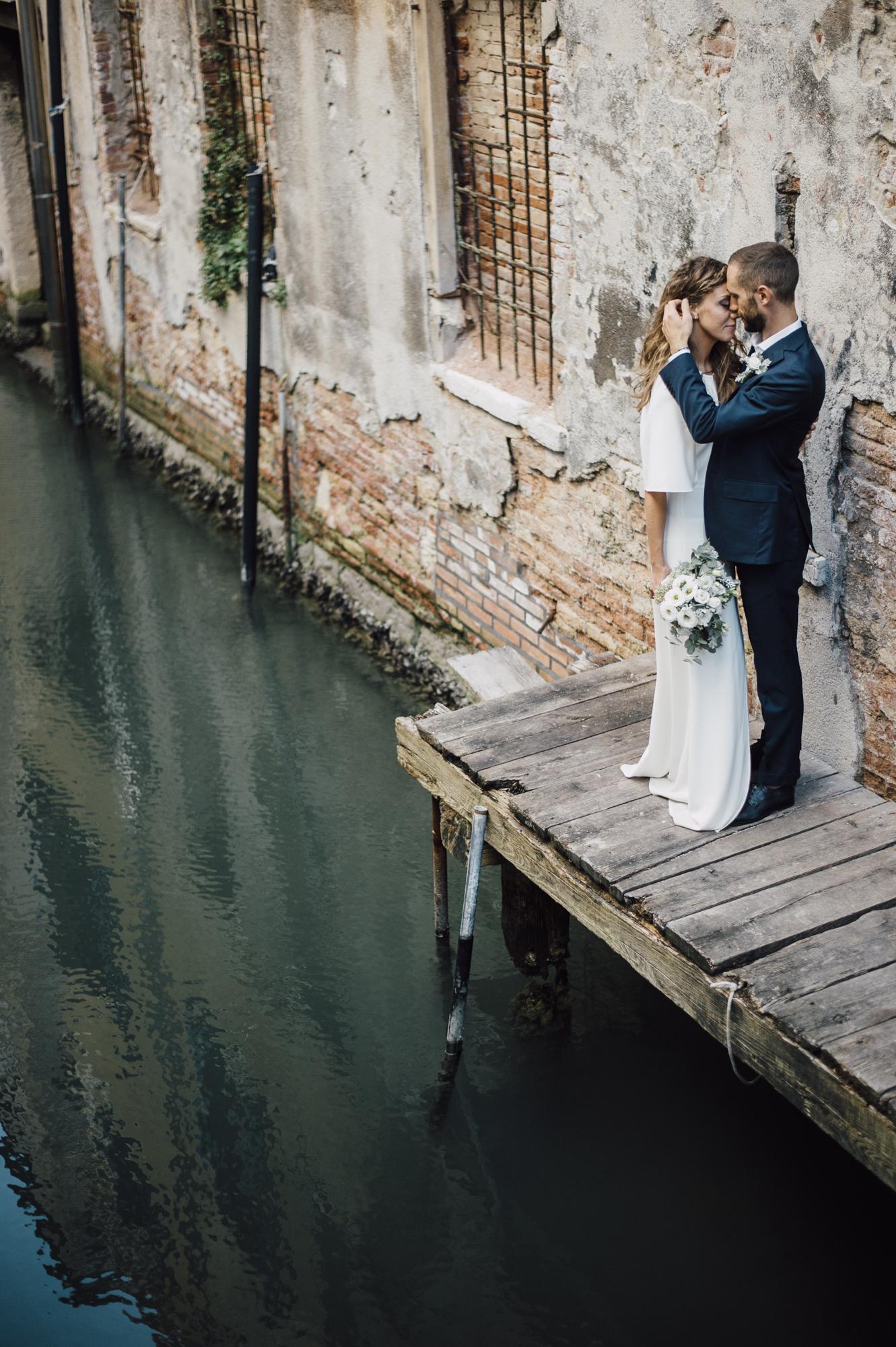 Beautiful Venice Elopement