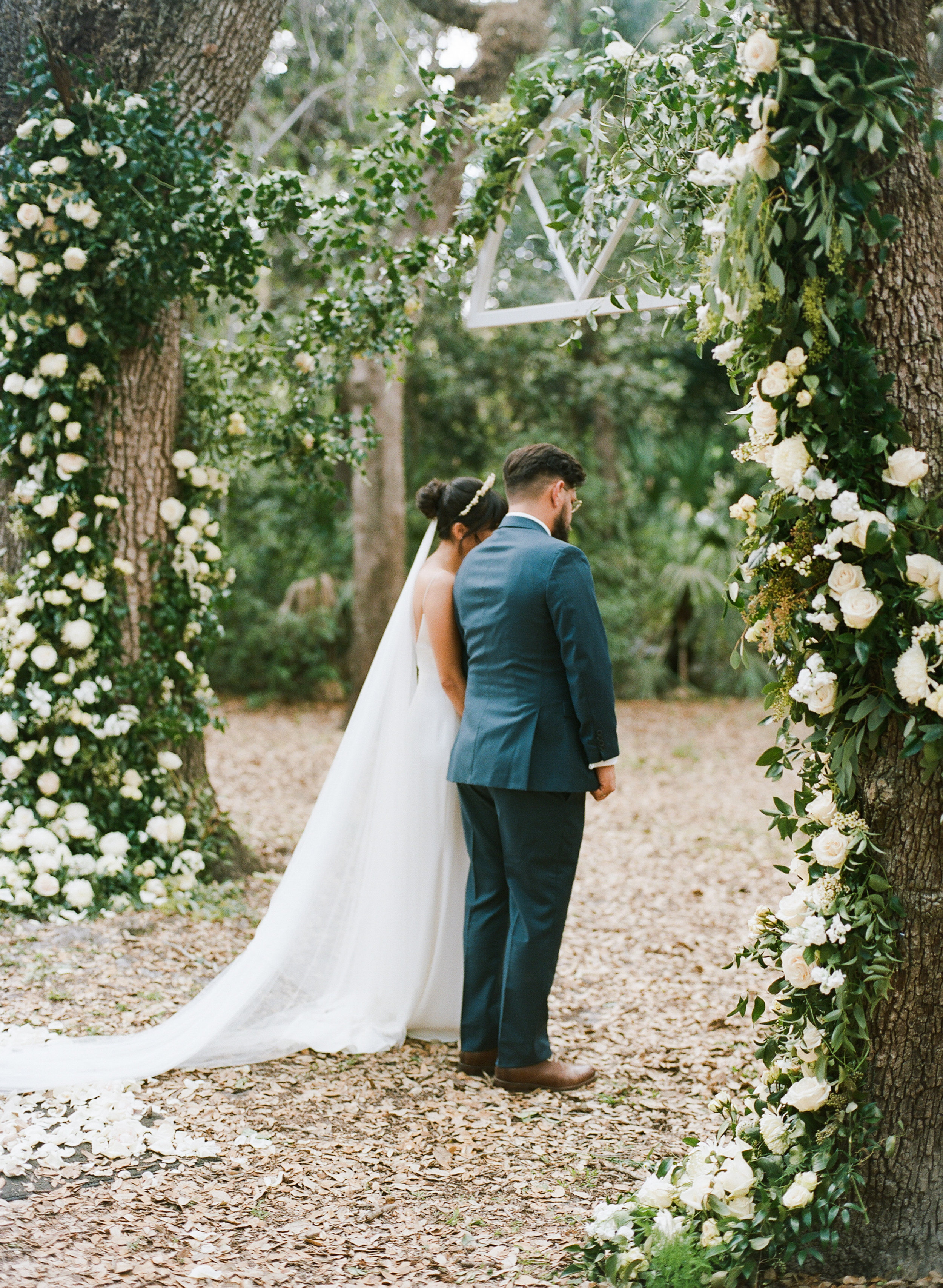 Intimate Garden Miami Wedding