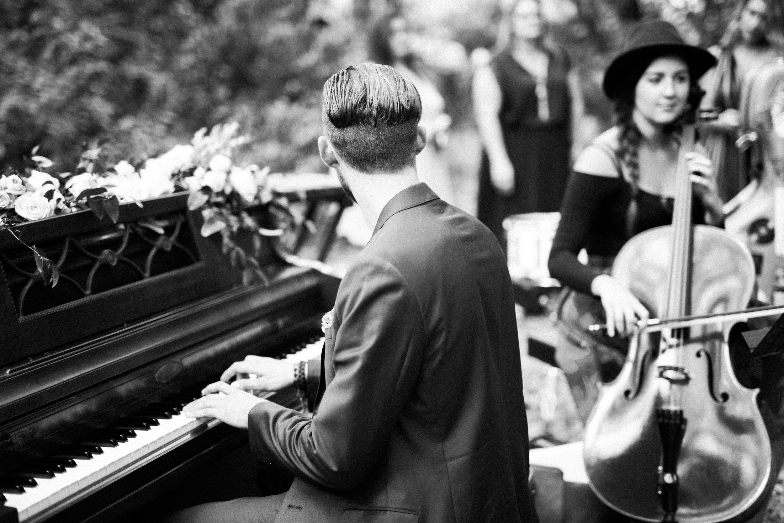 Wedding Ceremony Pianist and Cellist