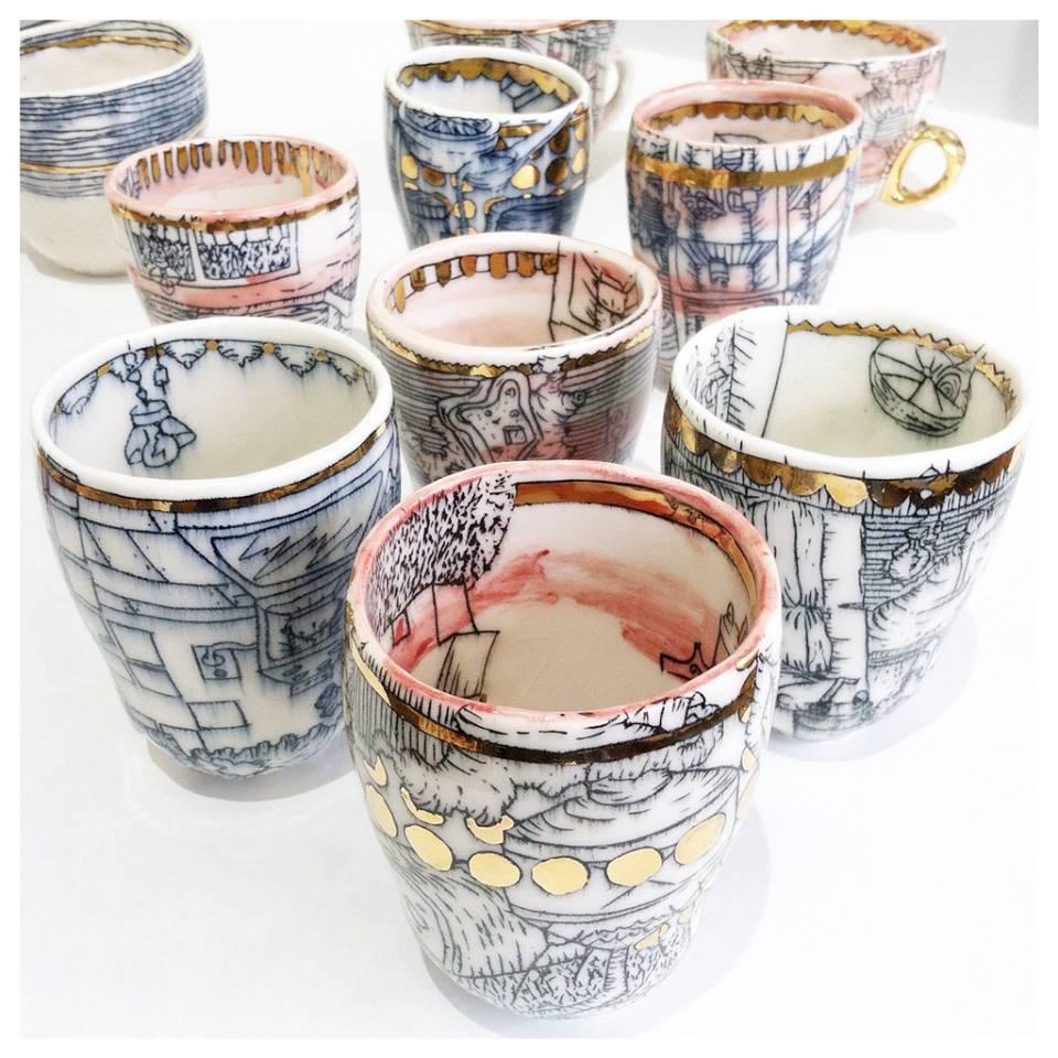 MADCAP Studio Ceramics by  Molly Bernstein