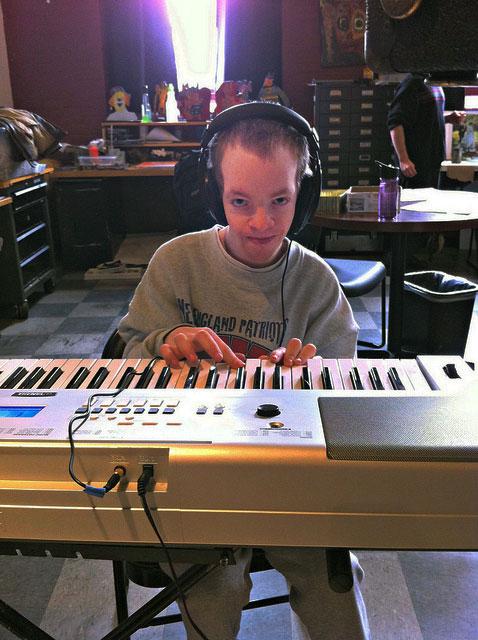 Jimmy on keyboard