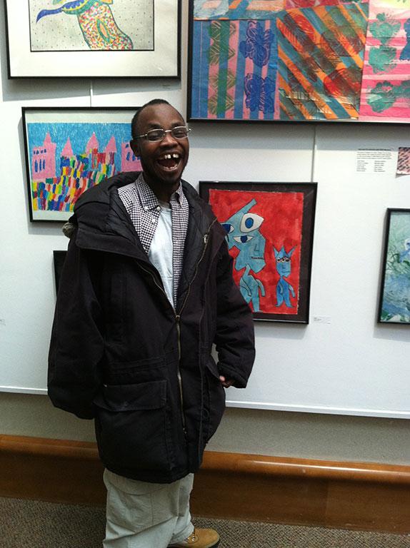 Jahnoy at Atrium Gallery opening