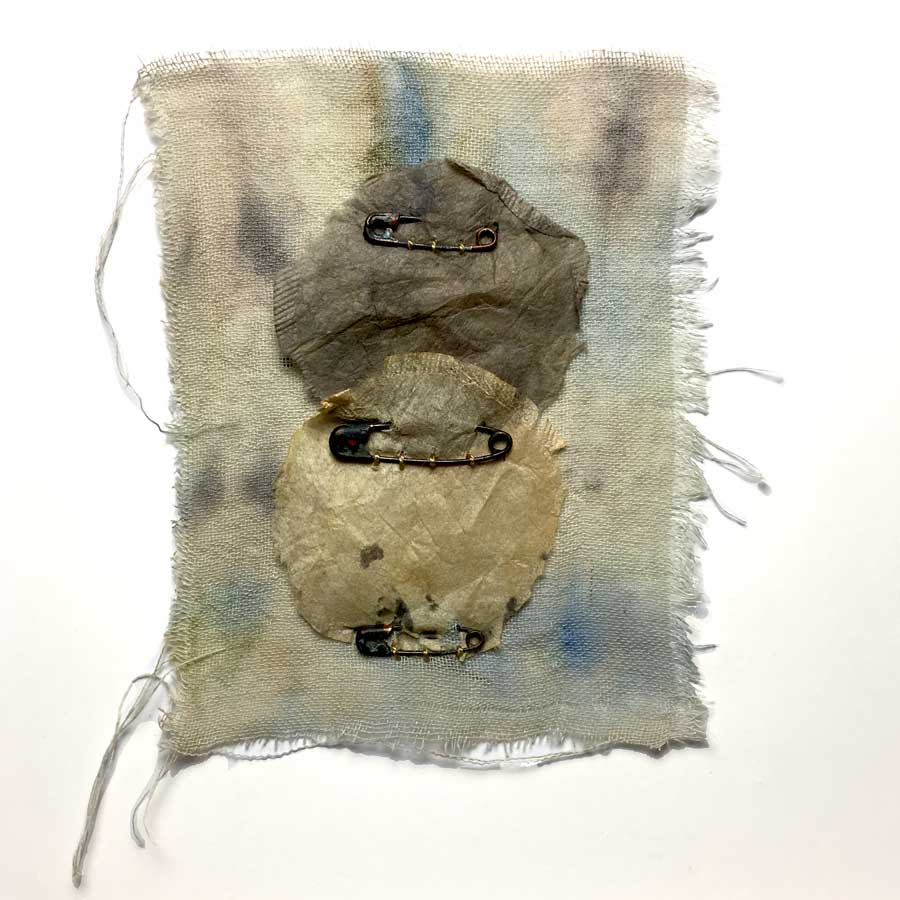 Teabag Art Project Number 18