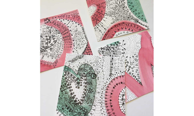 several doodles cards.jpg