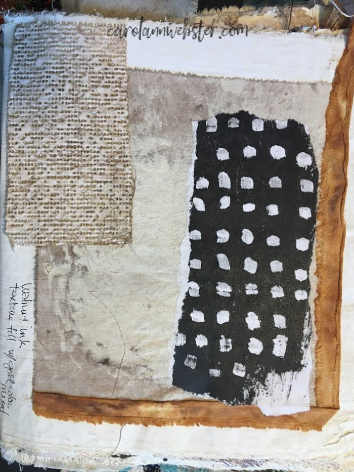 Collaged pieces