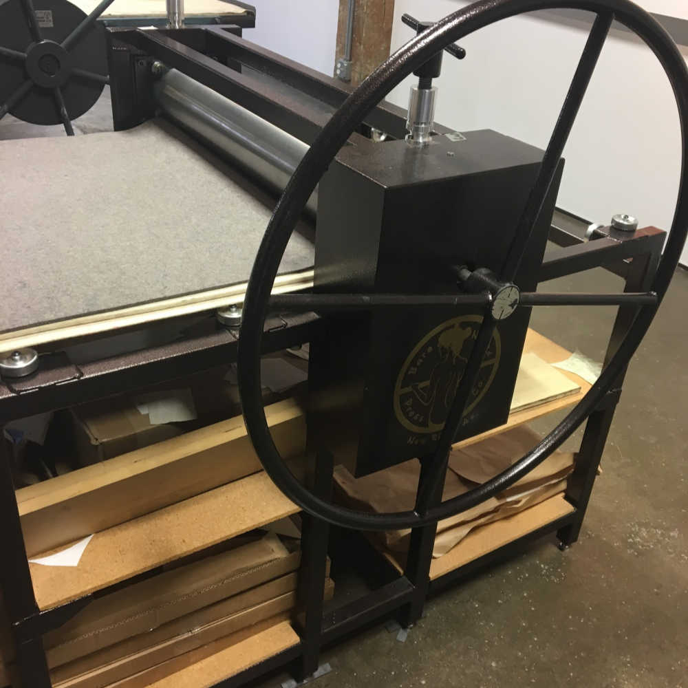 "The ""captain's wheel"""