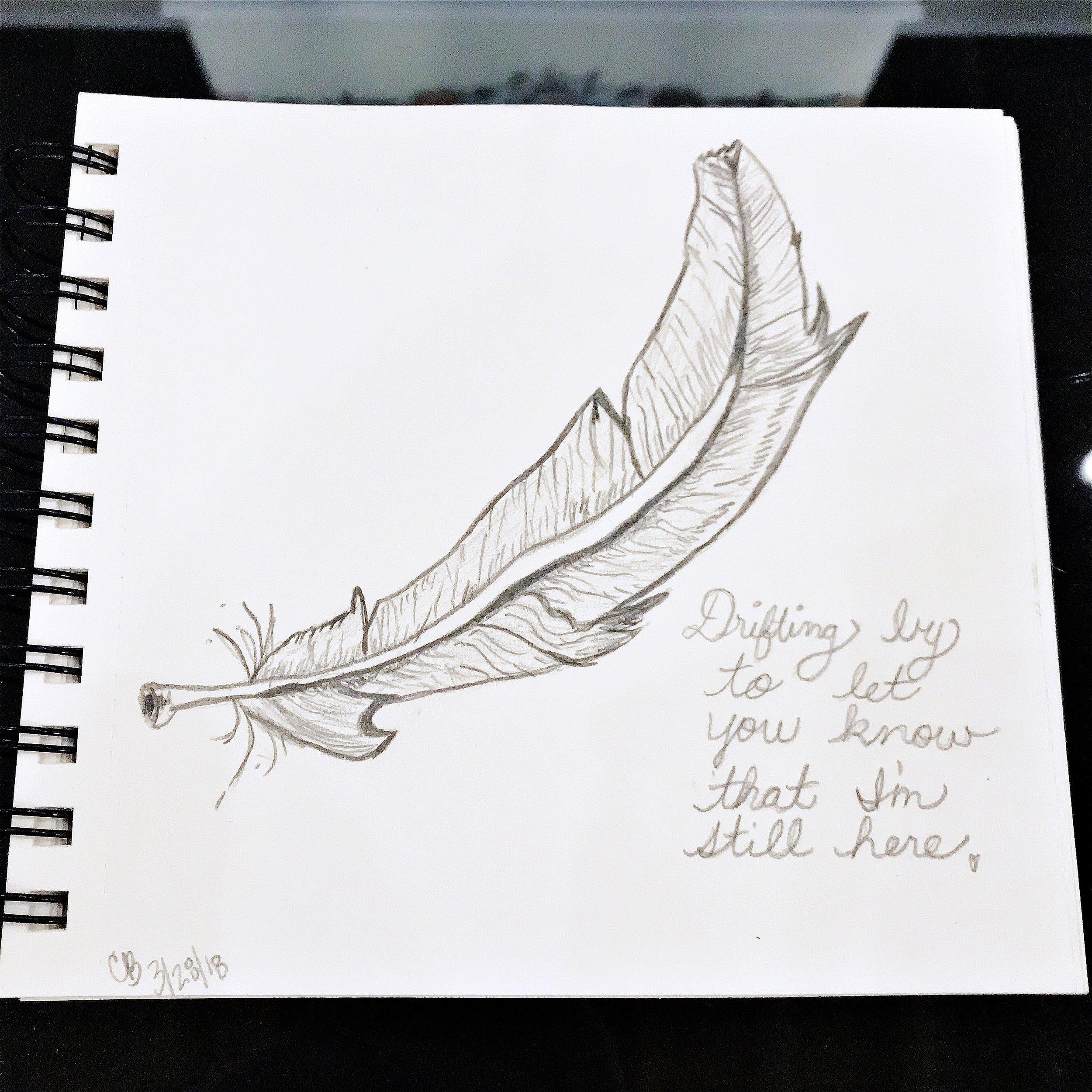 Art by Carolyn J. Braden: I'm Still Here
