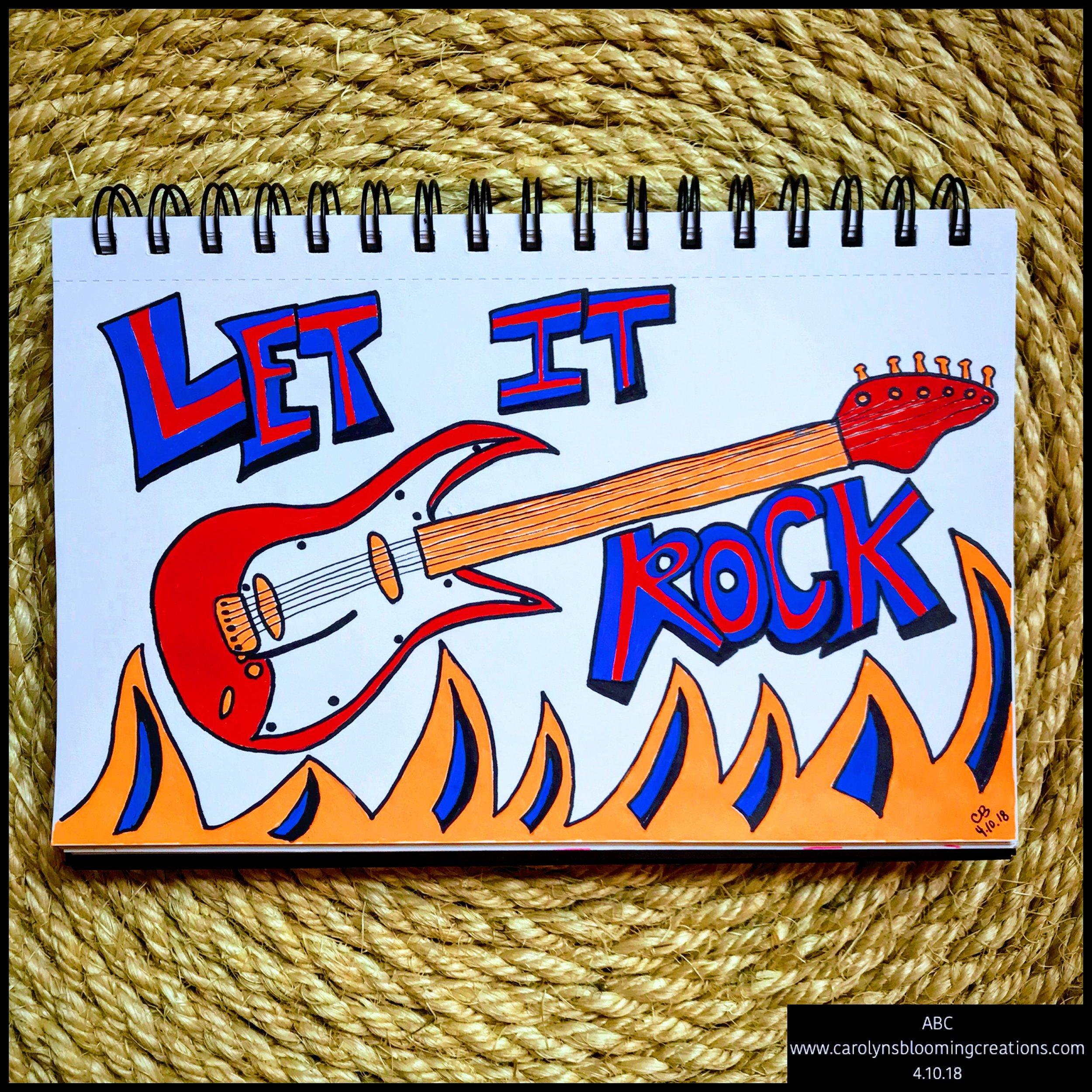 Art by Carolyn J. Braden: Let It Rock