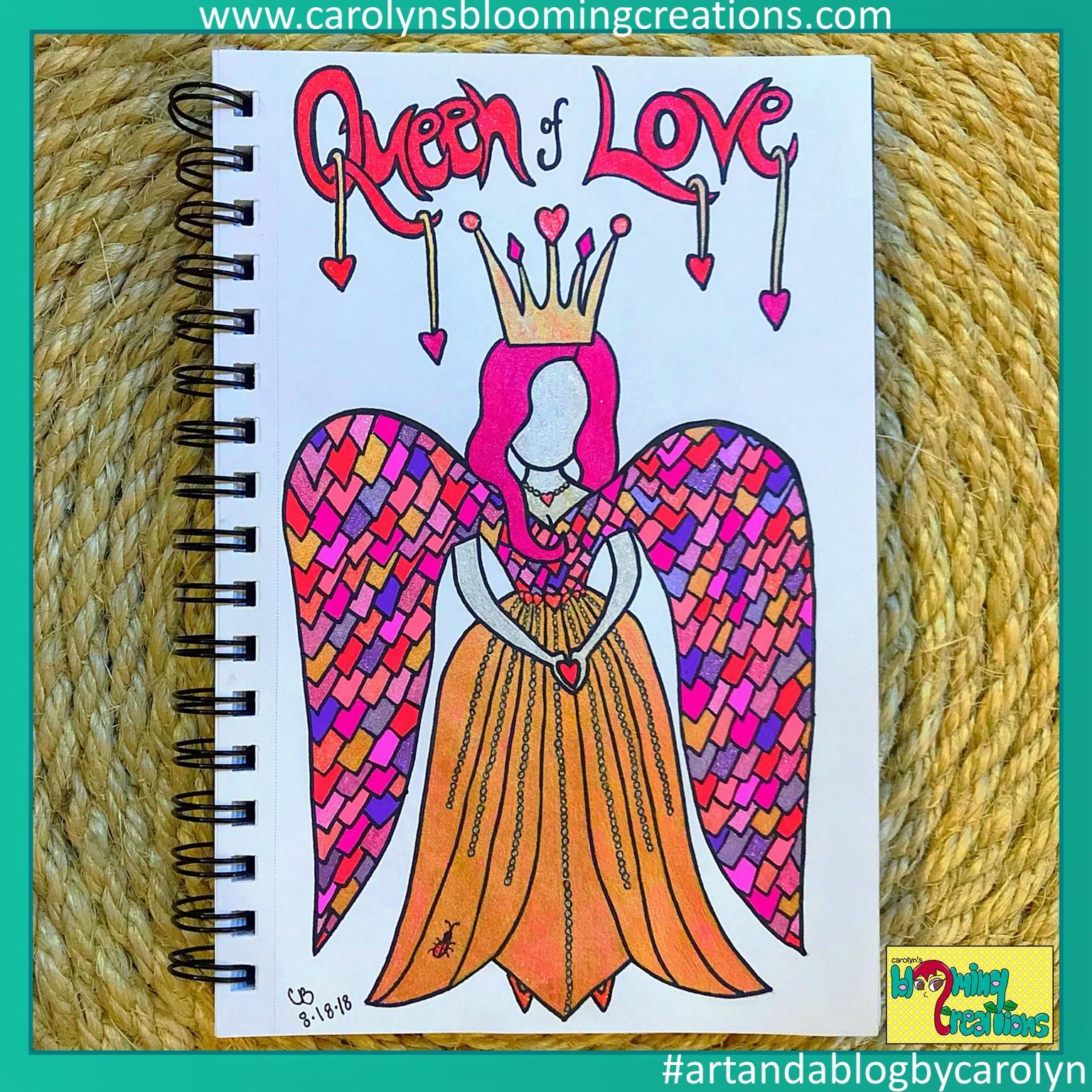 Queen of Love by Carolyn Braden 1.JPG