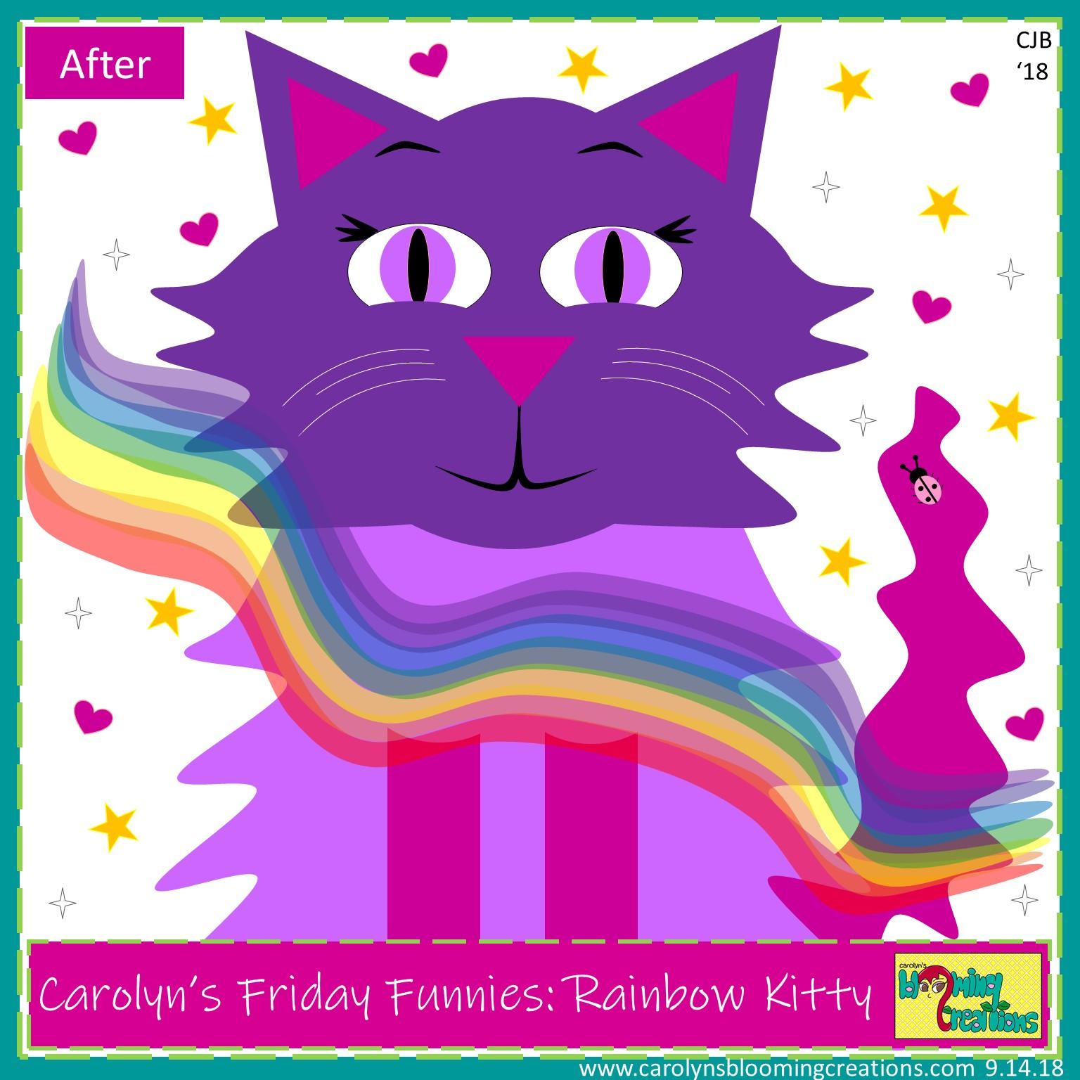 Carolyn Braden Rainbow Kitty After.jpg