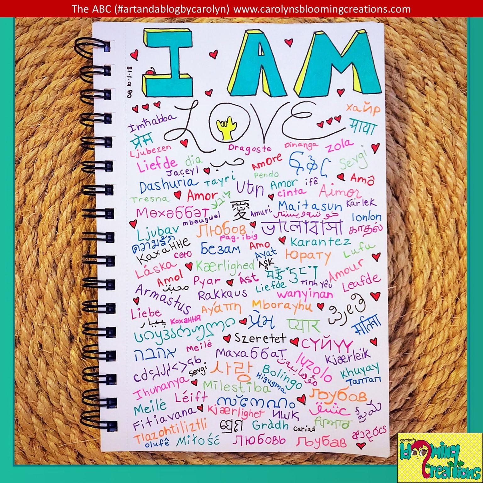 Carolyn Braden I am Love.JPG