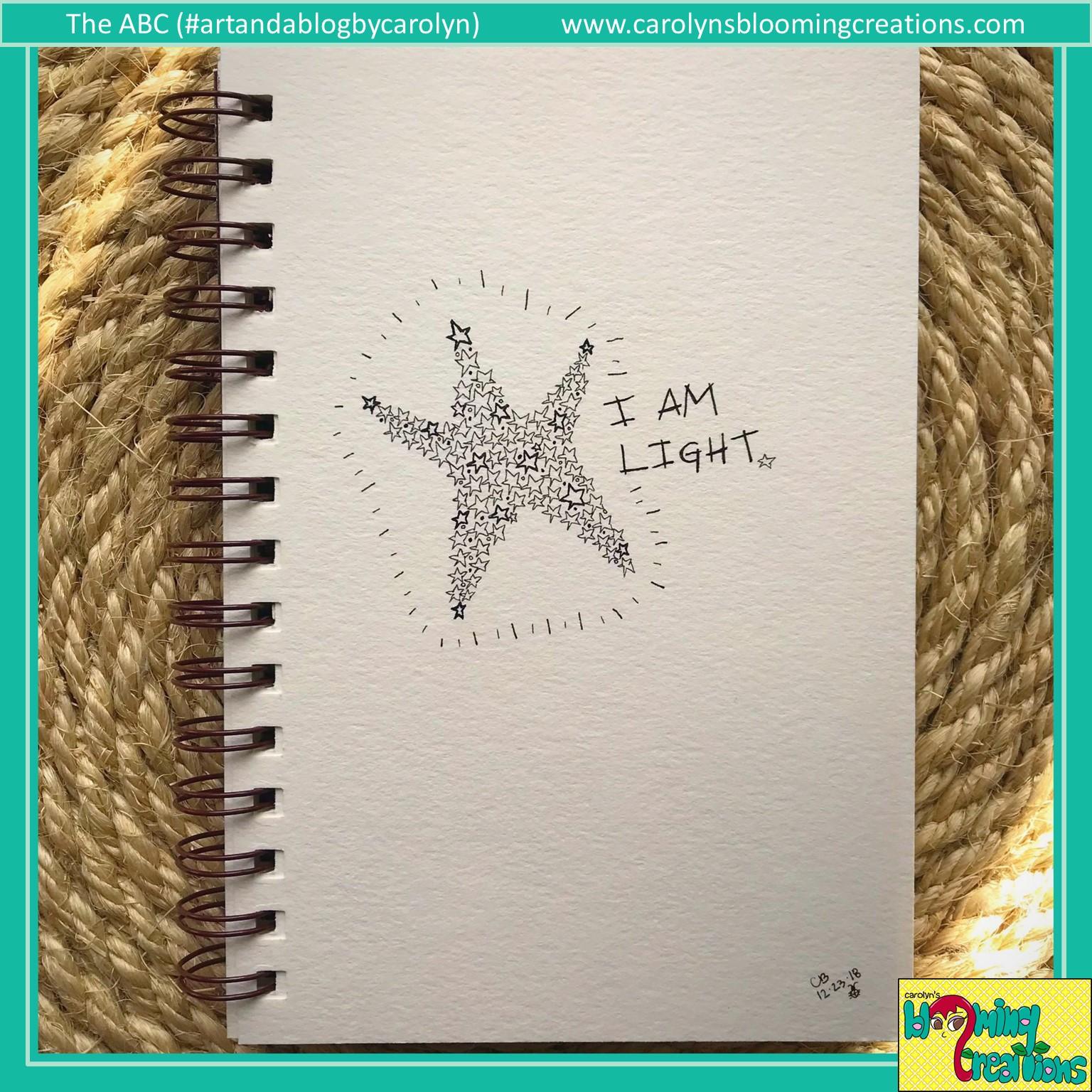 Art by Carolyn J. Braden, Media: Faber Castell PITT pens on paper
