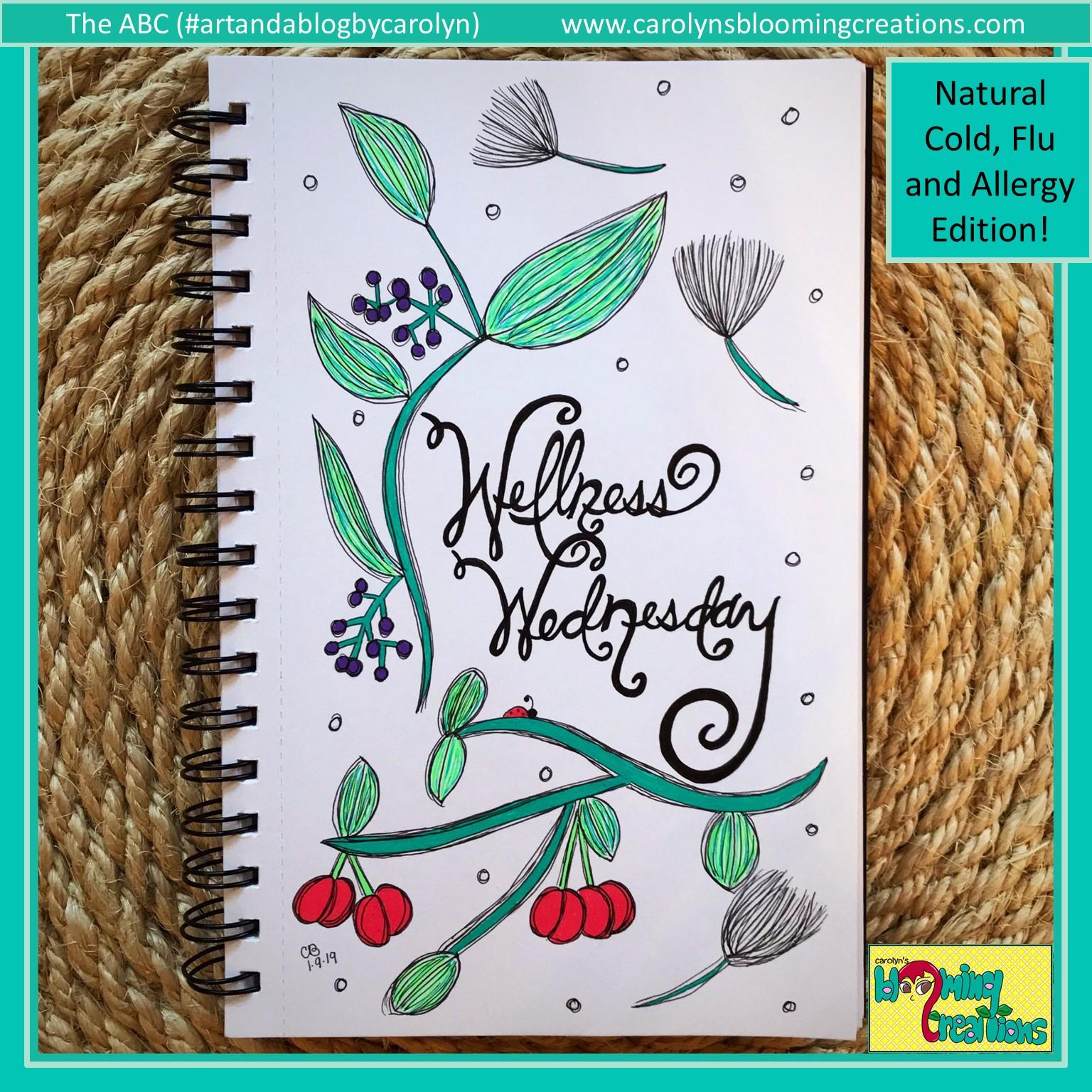 Art by Carolyn J. Braden, Media: Sakura Gelly Roll pens, Faber Castell PITT pens, BIC pencil
