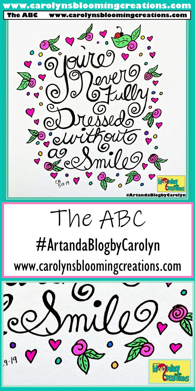 Pin me! www.carolynsbloomingcreations.com, Art created by Carolyn J. Braden  Media: Faber Castell PITT pens and Sakura Gelly Roll pens on paper