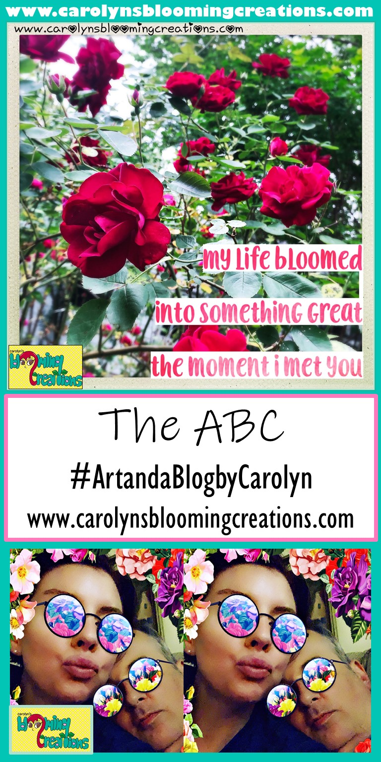 Pin me! www.carolynsbloomingcreations.com  Photography and collage created by Carolyn J. Braden