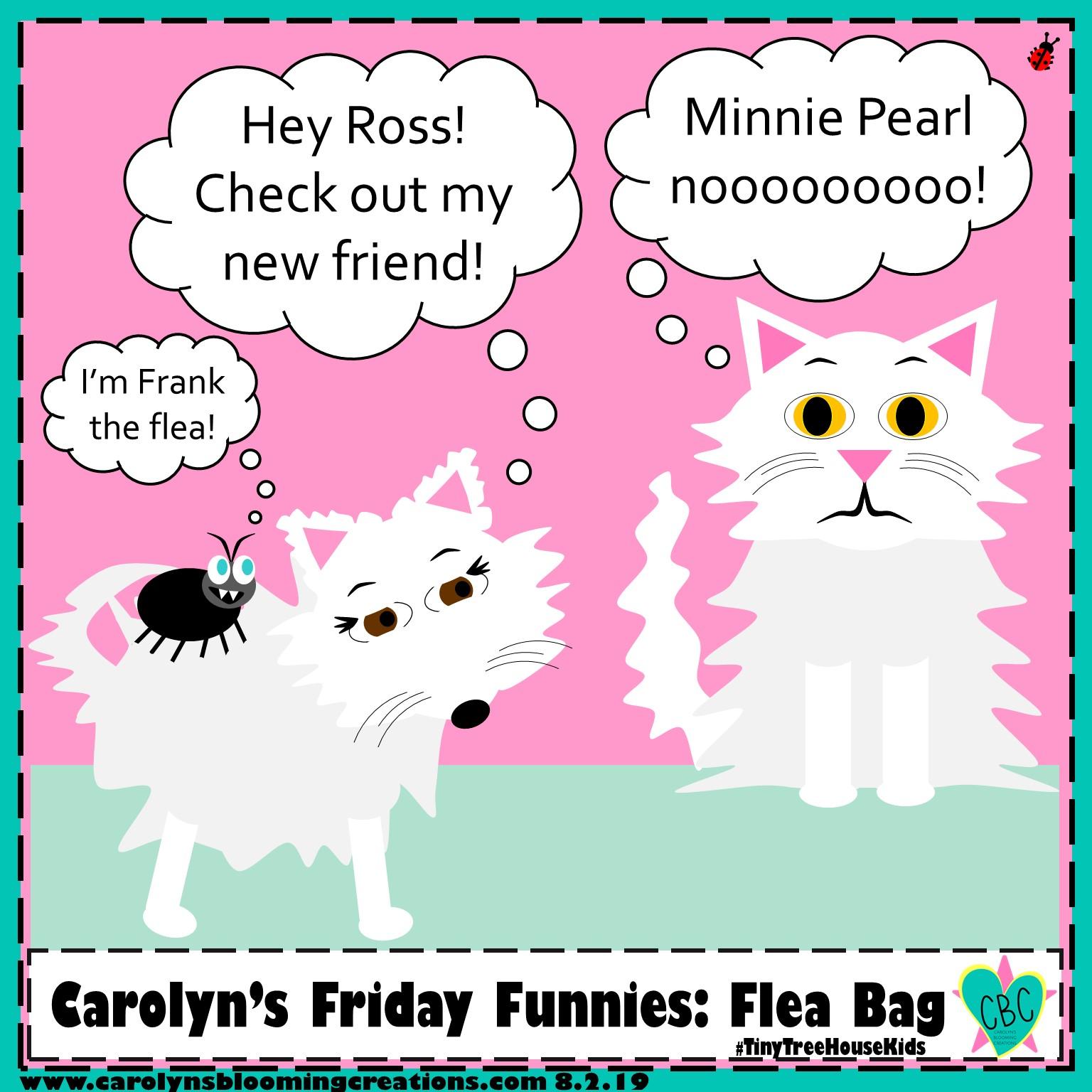 Carolyn Braden friday funny flea bag.jpg