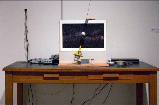 """Ice Cap Melt"", Installation View"