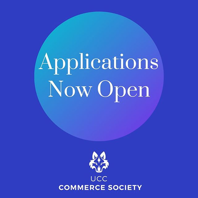 𝘼𝙥𝙥𝙡𝙞𝙘𝙖𝙩𝙞𝙤𝙣𝙨 𝙤𝙥𝙚𝙣!  This years applications are now open. We have a number of positions going for people of all courses. We want to see lots of fresh new faces this year so show us what you've got and apply!  For any questions, just message the page and we'll be happy to help! (Link in bio)