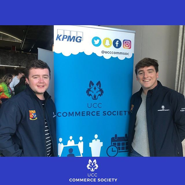 Our Vice-chair and PRO down in Devere Hall, answering everyone's CommSoc related questions. Pop on down to societies day to find out more about what we have to offer!