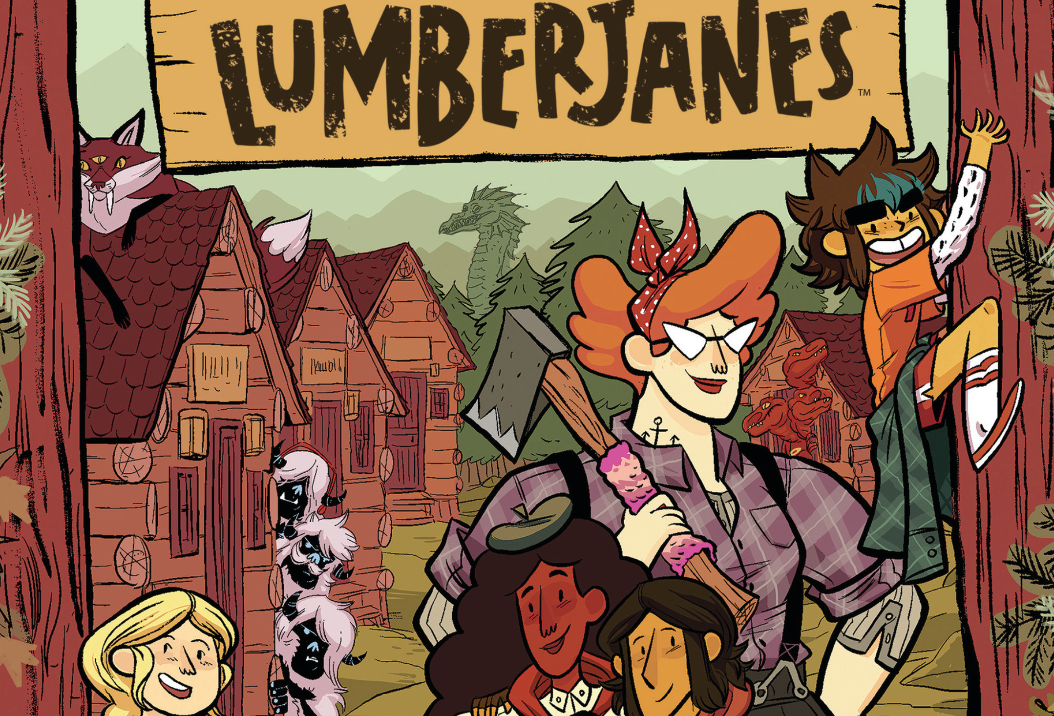 "One of Boom Box's biggest successes is ""The Lumberjanes,"" about a diverse group of girls at summer camp."