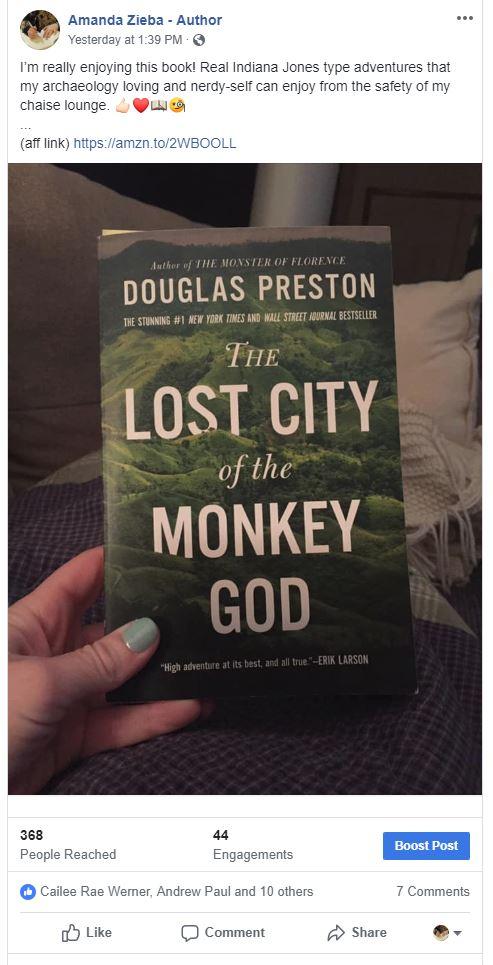 lost city of the money god_fb post.JPG