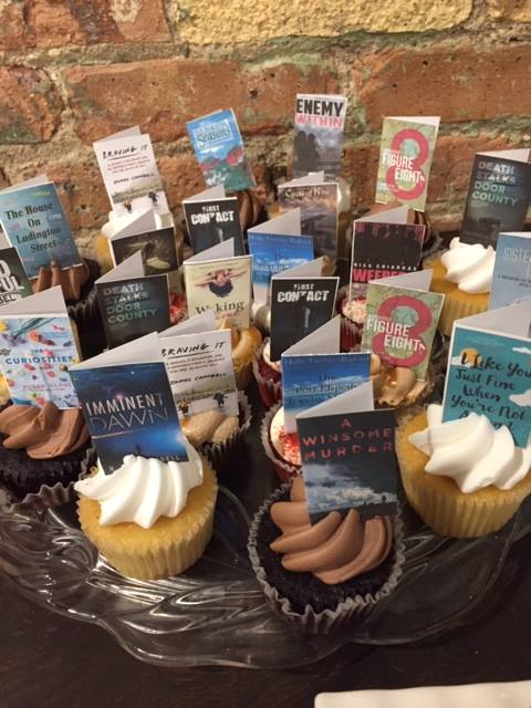 Books & Beer cupcakes for 4th Anniversary Celebration.jpg