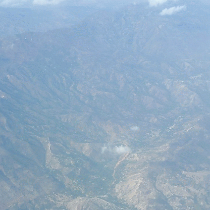 Deforested Haiti Mountain