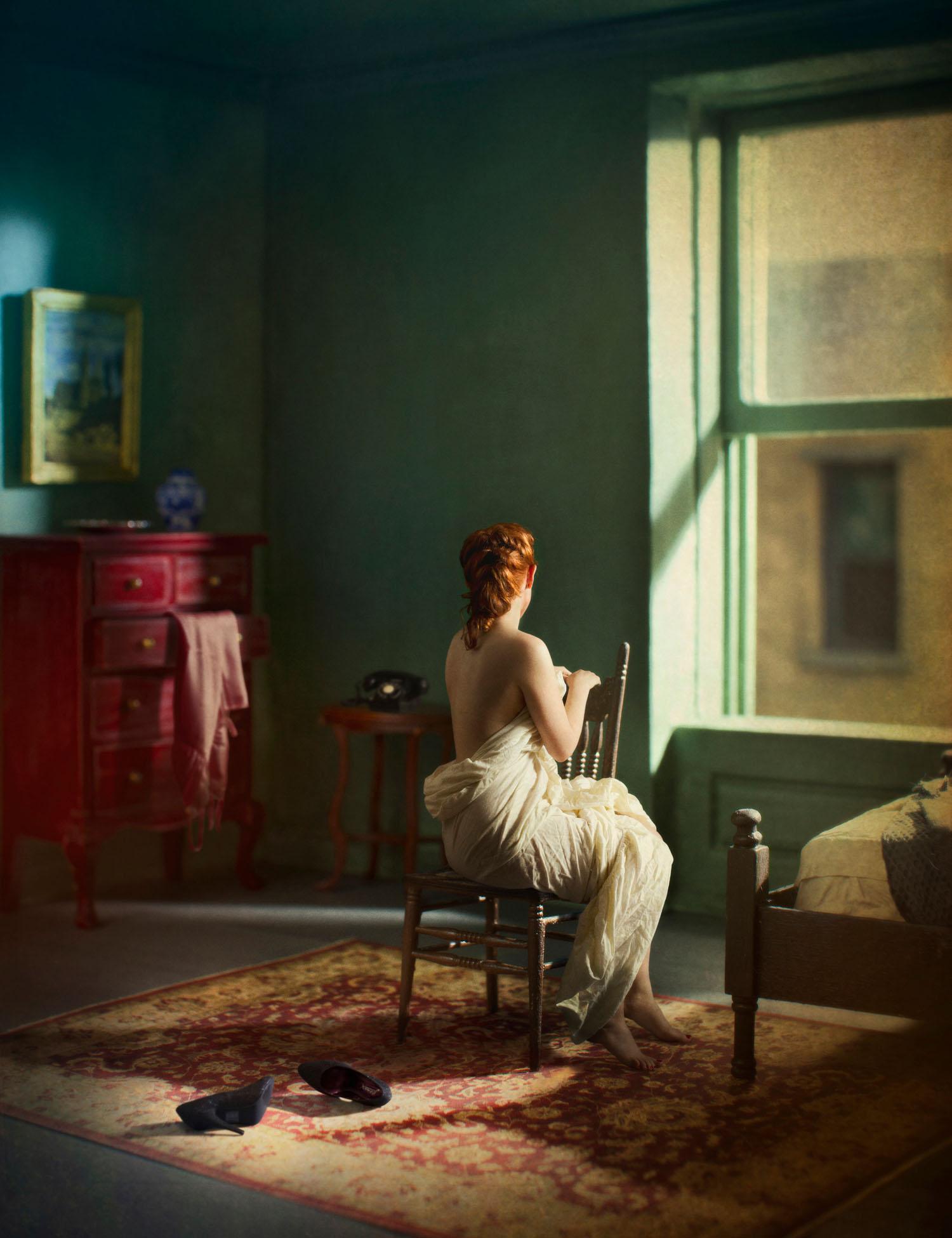 Green Bedroom (Morning), (2013