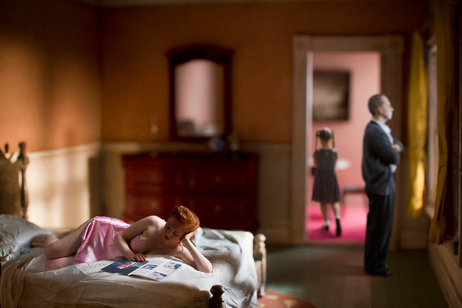 Pink Bedroom (Family), (2013)